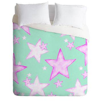 Monika Strigel All My Stars Will Shine For You Duvet Cover