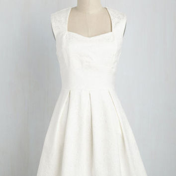 Long-Term Loveliness Dress in White