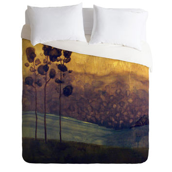 Conor O'Donnell Tree Study Nine Duvet Cover