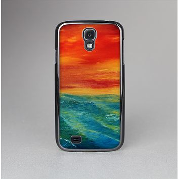 The Abstract Sunset Painting Skin-Sert Case for the Samsung Galaxy S4