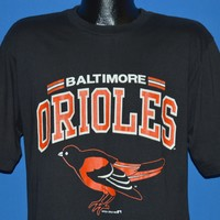 80s Baltimore Orioles Logo t-shirt Large