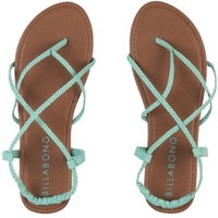 Billabong Crossing Over Sandal - Women's Mo-Mint, 7.0