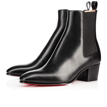 Gadessita 55 Black Leather - Women Shoes - Christian Louboutin