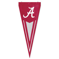 Alabama Crimson Tide NCAA Applique & Embroidered Yard Pennant (34x14)