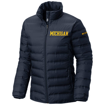 Columbia University of Michigan Women's Navy Lake 22 Down Jacket