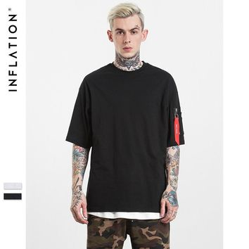 ca qiyif INFLATION  Europe Style Men's Short Sleeve