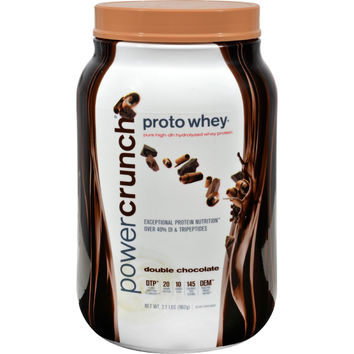 Proto Whey Protein Powder - Double Chocolate - 2 lbs