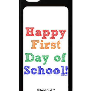 Happy First Day of School iPhone 5 / 5S Grip Case  by TooLoud