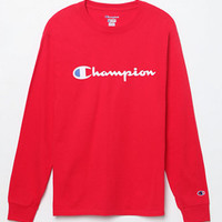 Champion Patriotic Logo Long Sleeve T-Shirt at PacSun.com