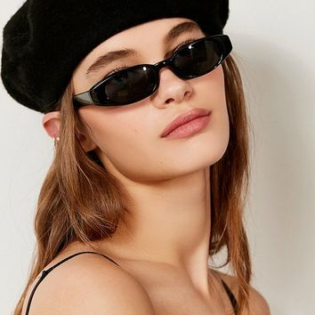 Vintage Lucy Oval Sunglasses   Urban Outfitters