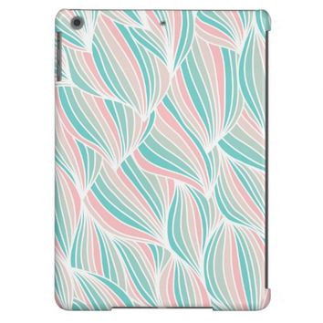 Cool Colorful Ocean Waves Pattern iPad Air Case