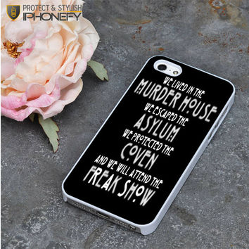 American Horror Story Asylum iPhone 5|5S Case|iPhonefy