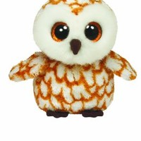 Ty Beanie Boos Swoops Brown Barn Owl Plush
