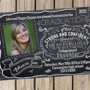 Graduation announcement college high school (you print) CLASS OF 2013