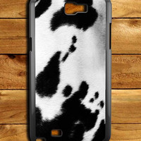 Cow Skin Spot Samsung Galaxy Note 2 Case