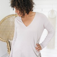 Charming Simplicity Top - Sand