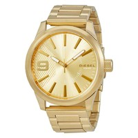 Diesel Rasp Gold Tone Mens Watch DZ1761