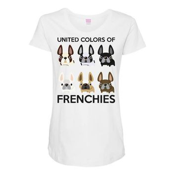 united color of frenchies Maternity Scoop Neck T-shirt