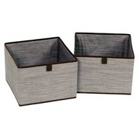 2pk Drawers for Closet Organizer - Gray Birch - Threshold™