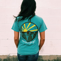 American Honey Cactus Sunset Tee