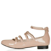 SOPHIE BOW Shoes - Nude