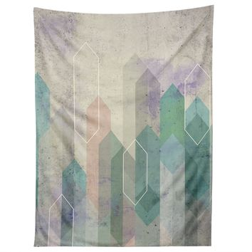 Emanuela Carratoni Raw Gems Tapestry