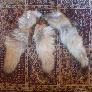 Craft Grade Coyote Tail