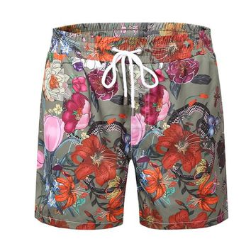 Boys & Men GUCCI Flower Casual Sport Shorts