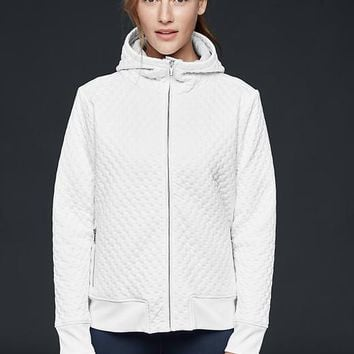 Gapfit Brushed Hood Quilted Scuba Jacket