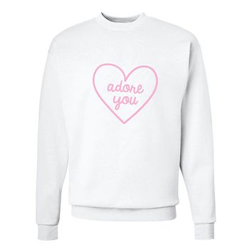 "Harry Styles ""Adore You Heart"" Crew Neck Sweatshirt"