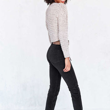 BDG Girlfriend Velvet High-Rise Pant - Urban Outfitters