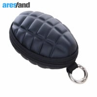 Aresland  Men's Women's Hand Shape Coin Wallet Key Purse Zipper Bag - Camouflage and black