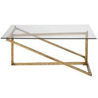 Zerrin Glass Coffee Table By Uttermost