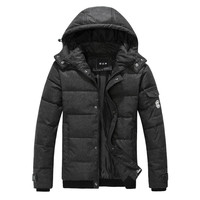 Puffer Down Jacket with Hood