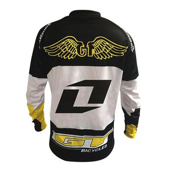 2017 New Downhill Mountain Bike Riding Gear GT Racing Under Cross-country T-shirt Quick-drying Breathable Soft Tail cycling