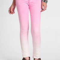 Narrow Faded Pink Pants By Cheap Monday - $89.00: ThreadSence, Women's Indie & Bohemian Clothing, Dresses, & Accessories