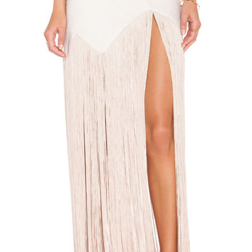 Gatsby Skirt in Beige