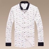 Boys & Men Giorgio Armani Buttons Shirt Top Tee