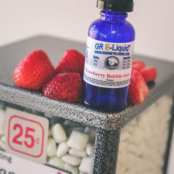 """Strawberry Bubble Gum"" Premium E-Liquid"