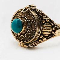 Poison Ring in Gold - Urban Outfitters