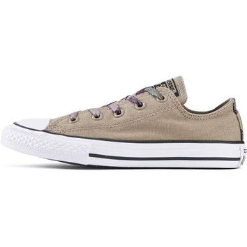 VONE5FW Converse for Kids: Chuck Taylor All Star Ox Sandy/Camo Sneakers
