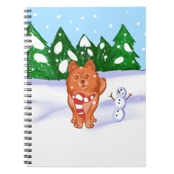 Snow Puppy Notebook