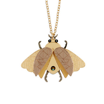 Insect Pendant Necklace | Little Moose | Quirky jewellery and playful accessories that raise a smile and stand out from the crowd