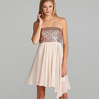 GB Sleeveless Sequin Dress | Dillards.com