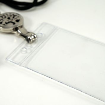 Plastic Badge Holder for Lanyard Diffuser