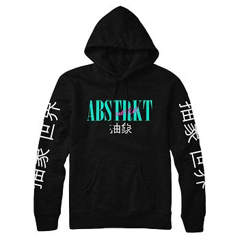 Abstracto World Western Vice Hoodie Black