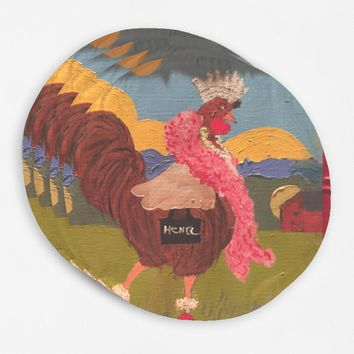 Henel round placemats
