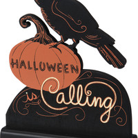 Primitives By Kathy Halloween Is Calling Stand-Up