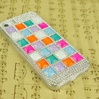 Geometric phone cases iphone 5 case rhinestone iphone 4s case bling iphone 5s cover iphone 4 otterbox skin case iphone 5c case galaxy note 3