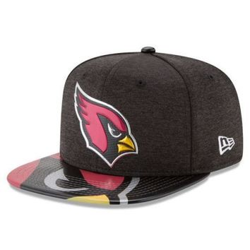 Arizona Cardinals New Era 2017 NFL Draft On Stage 9FIFTY Snapback Hat Cap Lid